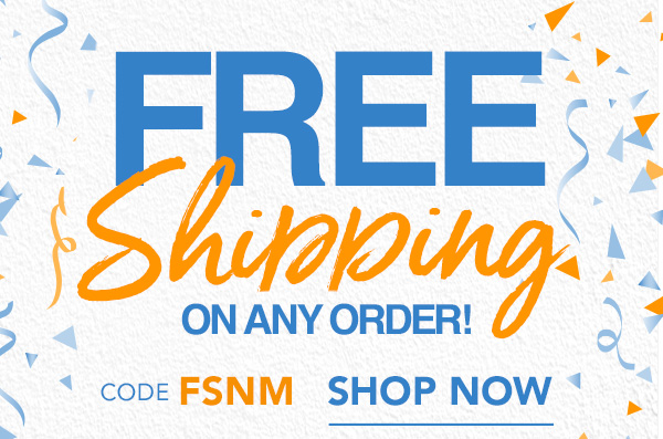 Use Code FSNM To Get Free Shipping!